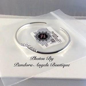 New Pandora Wishbone Tiara Open Bangle